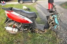0007MHXADTYGB74X-C307 Motorowerzysta zginął pod kołami pociągu