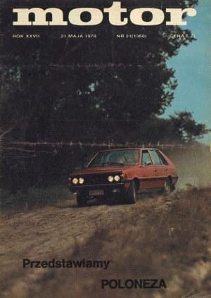 """""""Motorze"""" nr 21/1978 /Motor"""