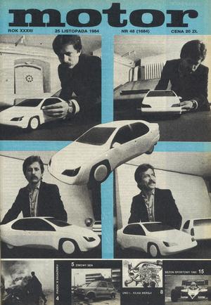 """""""Motorze"""" nr 46 z 25 listopada 1984 r. /Motor"""