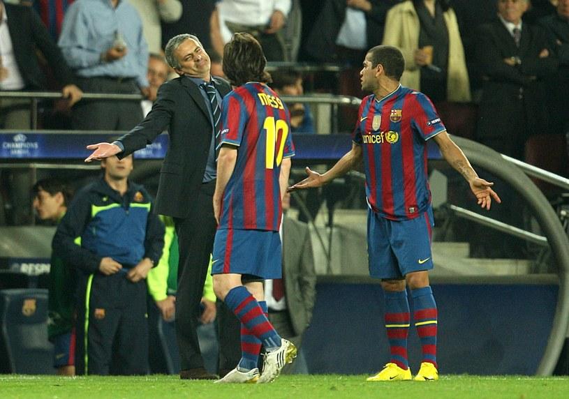 Mourinho i Messi spotkali się wiele razy na boisku /Stephen Pond - PA Images /Getty Images