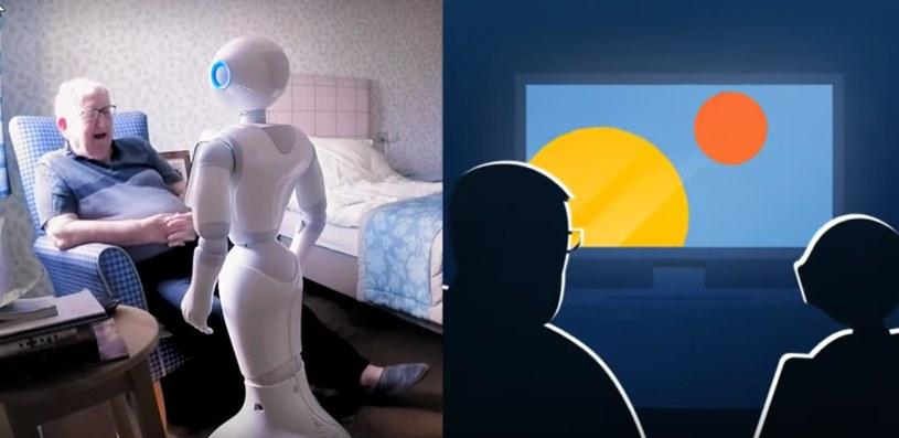 Mówiące roboty mogłyby pomagać w walce z samotnością /YouTube