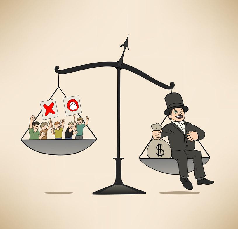 Mówienie o nierównościach to walka klas? /123RF/PICSEL