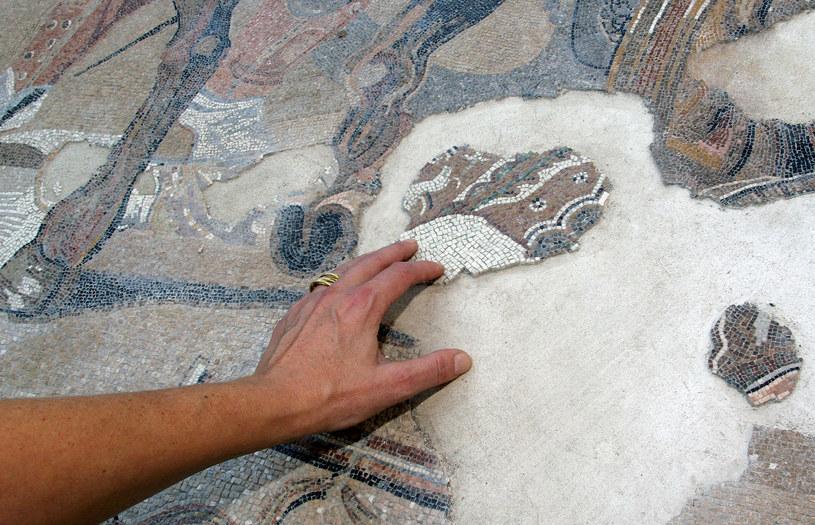 Mozaika w Pompejach (zdj. ilustracyjne) /MARIO LAPORTA /AFP