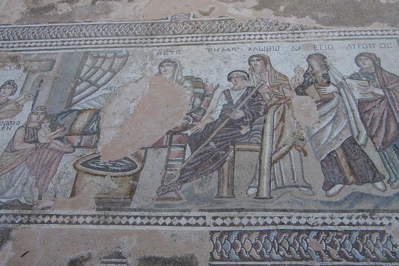 Mozaiki w Pafos /INTERIA.PL