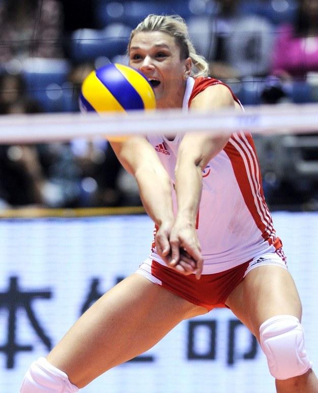 Możemy tylko żałować, że Małgorzata Glinka-Mogentale nie gra już w reprezentacji Polski. /AFP
