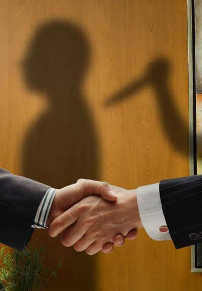 Możesz zbankrutować, jeśli twój kluczowy pracownik stanie się twoim konkurentem /©123RF/PICSEL