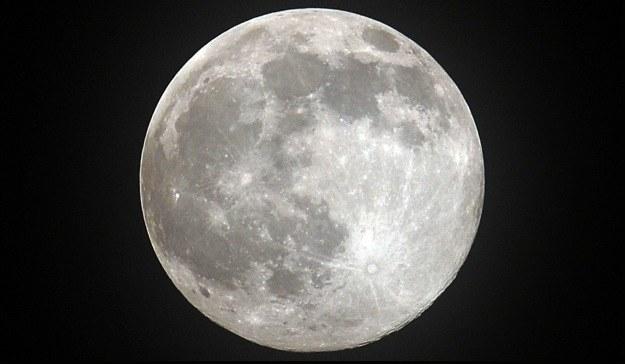 Możliwe, że będziemu musieli zmienić poglądy na temat powstania Księżyca /AFP