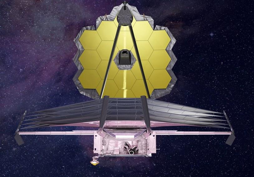 Możliwości Kosmicznego Teleskopu Jamesa Webba będą znacznie większe niż mocno eksploatowanego Hubble'a /NASA