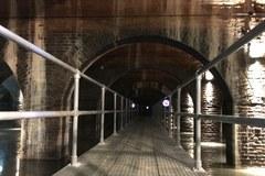 Można zwiedzać zbiornik Stara Orunia!. To największe miejsce zimowania nietoperzy na Pomorzu