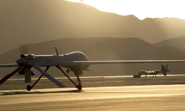 MQ-1 oraz MQ-9.  Fot. U.S. Air Force photo/Airman 1st Class Christian Clausen /materiały prasowe
