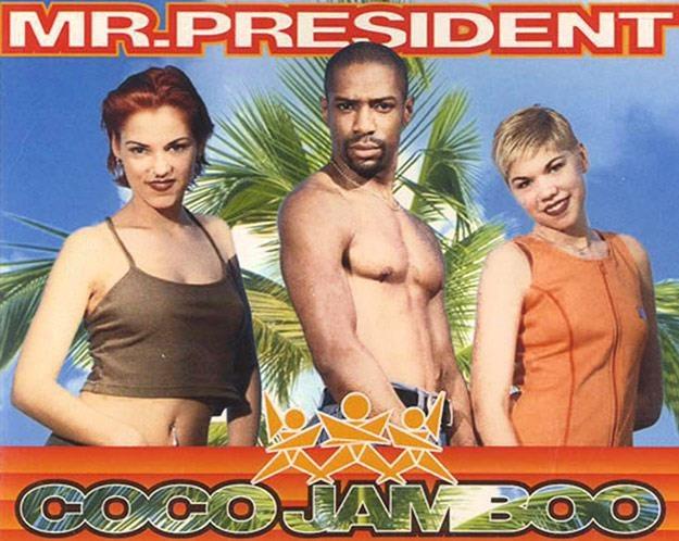"""Mr. President na okładce singla """"Coco Jamboo"""" /"""