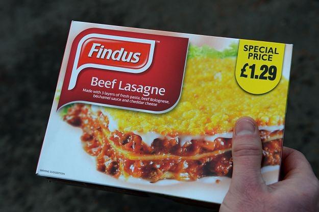 Mrożona lasagne Findusa została wycofana ze sprzedaży /AFP