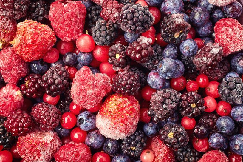 Mrożonymi owocami można się cieszyć przez cały rok /©123RF/PICSEL