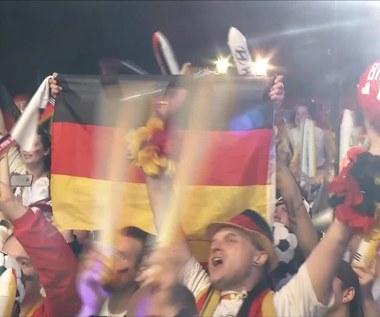MŚ 2014: Radość niemieckich fanów pod bramą Brandenburską. Wideo