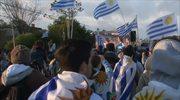 MŚ 2014: Radość w Bogocie, smutek w Montevideo. Wideo