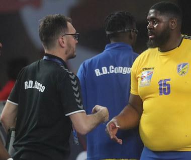 MŚ piłkarzy ręcznych. Gauthier Mvumbi stał się ulubieńcem kibiców. Wideo
