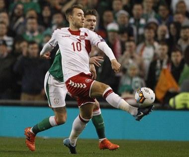 MŚ Rosja 2018. Irlandia - Dania 1-5 w barażu. Duńczycy jadą na mundial