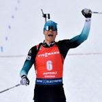 MŚ w biathlonie. Jacquelin obronił tytuł w biegu na dochodzenie
