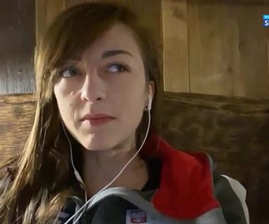 MŚ w Biathlonie. Monika Hojnisz-Staręga: Trasa w Pokljuce jest bardzo wymagająca i techniczna (POLSAT SPORT). WIdeo