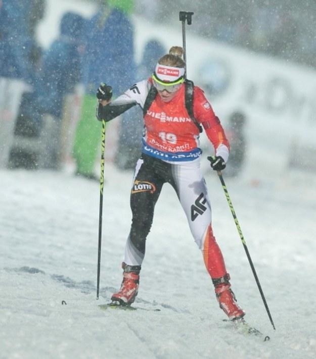 MŚ w biathlonie: Weronika Nowakowska-Ziemniak zdobyła brąz w biegu na dochodzenie