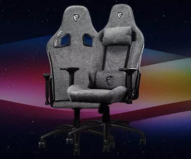 MSI MAG CH130 I Repeltek Fabric - tkanina marzeń w gamingowym fotelu