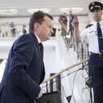 MSWiA: Minister Błaszczak nie przyznał sobie odznaki