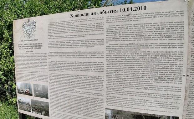 MSZ chce usunięcia tablic w Smoleńsku