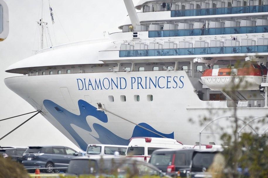 MSZ: dwójka Polaków zeszła z Diamond Princess, jeden wciąż na statku /FRANCK ROBICHON /PAP/EPA
