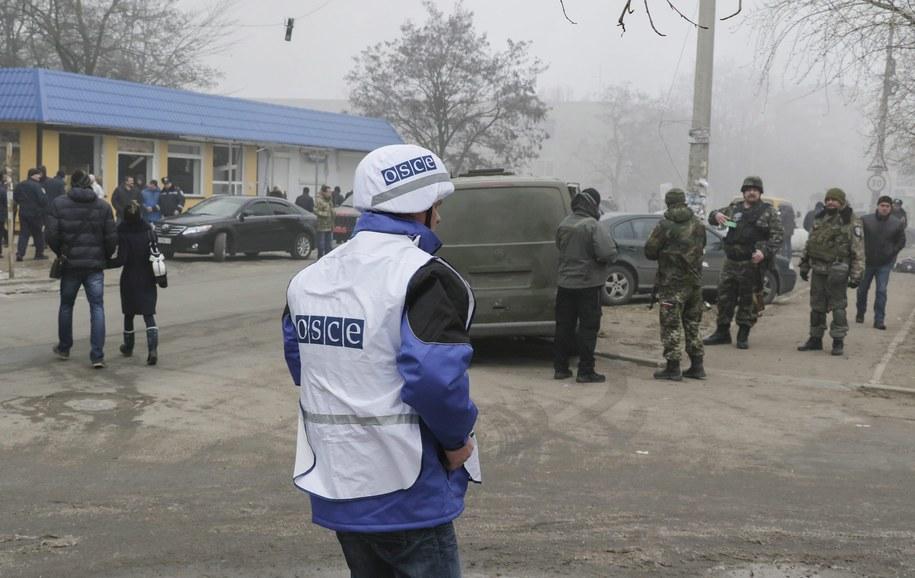 MSZ: Polska stanowczo potępia ostrzał cywilów /SERGEY VAGANOV /PAP/EPA