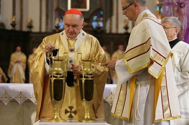 Msza Krzyżma w Wielki Czwartek, fot. S. Maszewski /Reporter