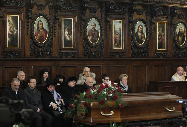 Msza pogrzebowa Jadwigi Kaczyńskiej, fot. Radek Pietruszka /PAP
