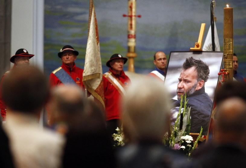 Msza pożegnalna w intencji zmarłego himalaisty Artura Hajzera /Andrzej Grygiel /PAP