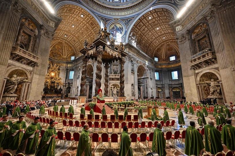 Msza św. kończąca synod dla Amazonii /AFP