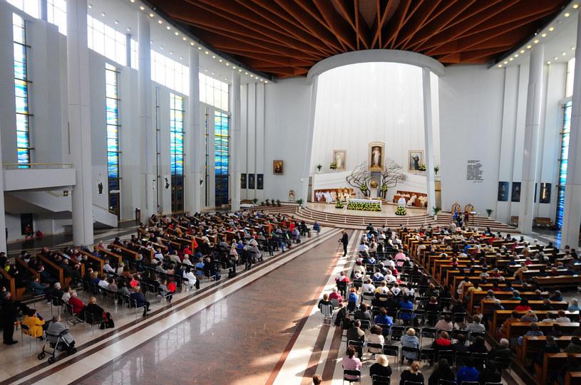 Msza święta w Sanktuarium Bożego Miłsierdzia w krakowskich Łagiewnikach, zdjęcie z października 2020 r. /FOT: ADAM WOJNAR/POLSKA PRESS /East News