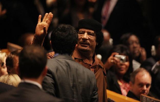 Muammar al-Kadafi /AFP