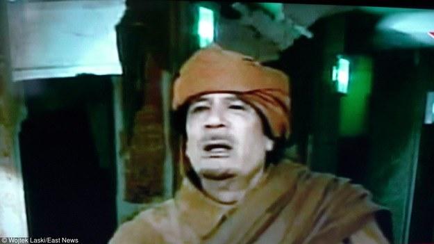 Muammar Kaddafii /Wojtek Laski /East News