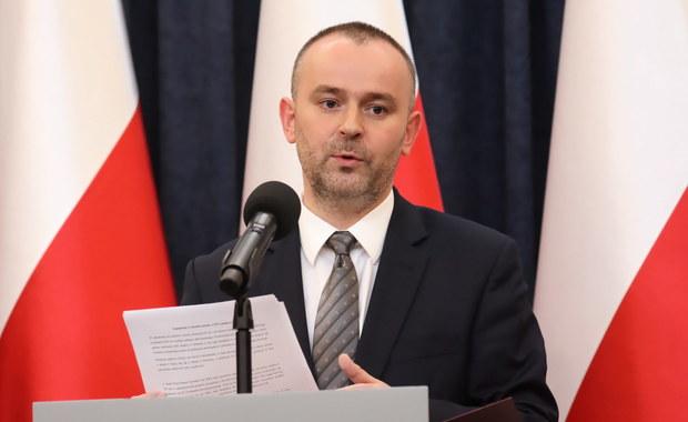 Mucha: Postanowienie SN zostało wydane bez podstawy prawnej. Nie odpowiada polskiemu prawu