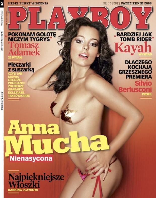 """Mucha w """"Playboyu""""  /materiały prasowe"""