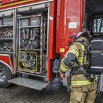 Muchy: Pożar fabryki palet. 160 strażaków walczyło z ogniem