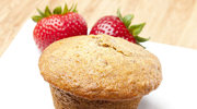 Muffinki nadziane rabarbarem