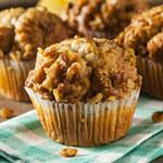Muffinki z ziołami i orzechami