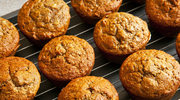 Muffinkowy bałwan