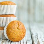 Muffiny z kremem waniliowym