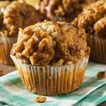 Muffiny z orzechami: Zajadaj się nimi w ciąży