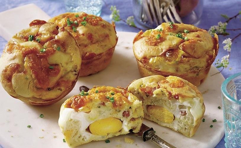 Muffiny z serem i szynką /123/RF PICSEL /123RF/PICSEL
