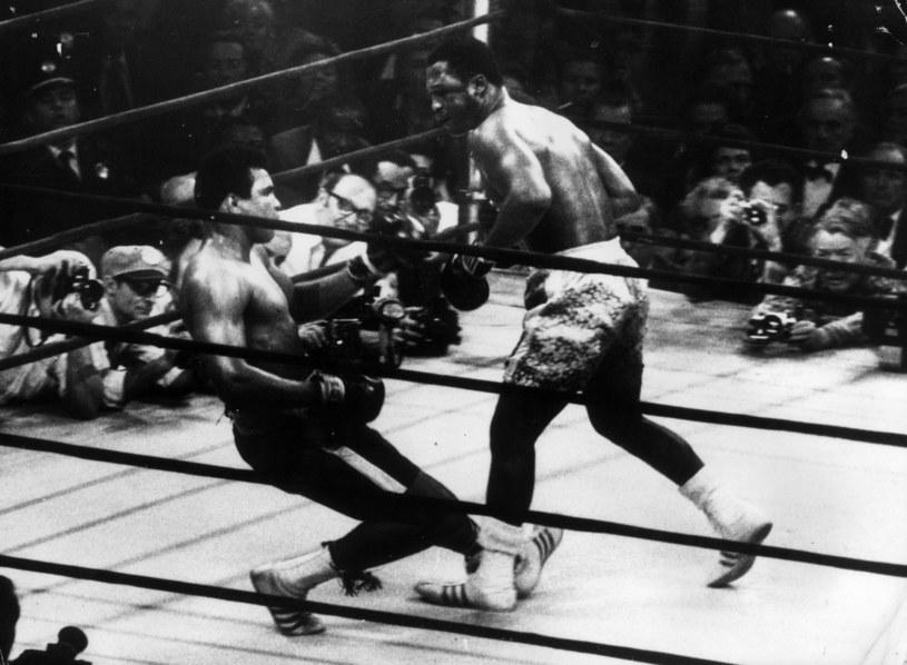 Muhammad Ali (z lewej) i Joe Frazier /Getty Images