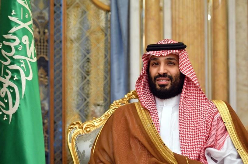 Muhammad ibn Salman to kontrowersyjna postać, zarzuca mu się m.in zlecenie zabójstwa dziennikarza,  Dżamala Chaszukdżiego /AFP