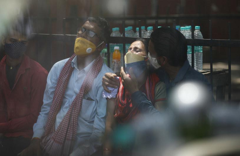 Mukormykoza to kolejne wyzwanie dla Indii w czasie pandemii koronawirusa /AP/Associated Press/East News /East News