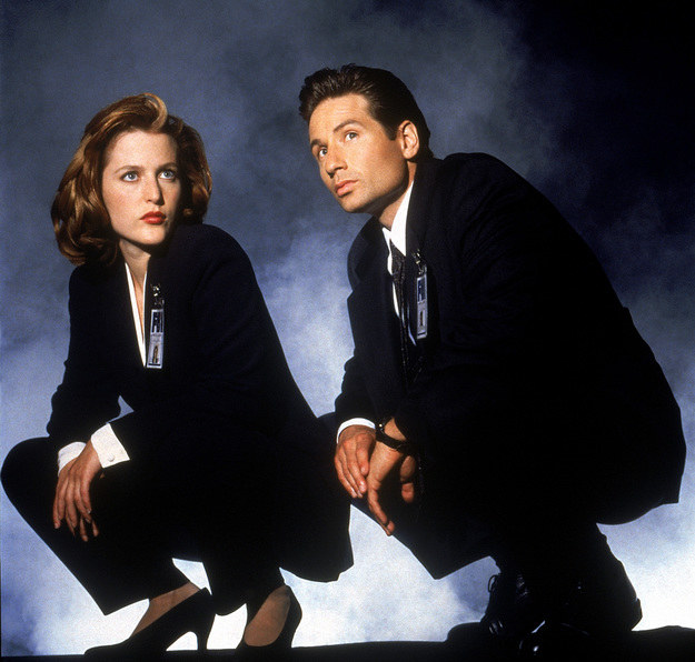 Mulder i Scully /East News/POLFILM