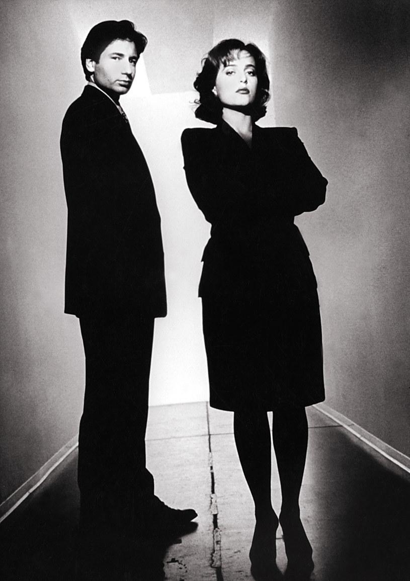 Mulder i Scully /AKPA